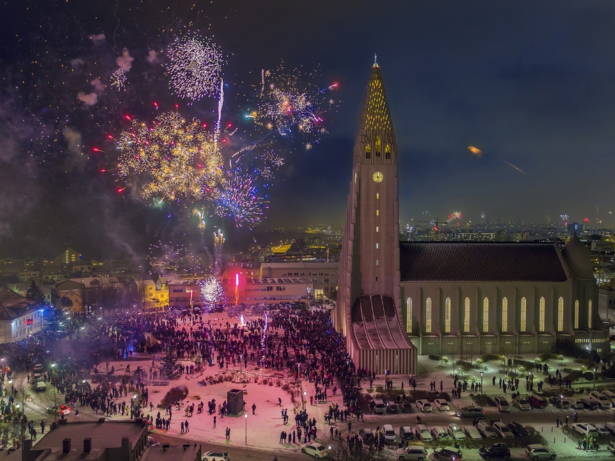 New year's eve Iceland
